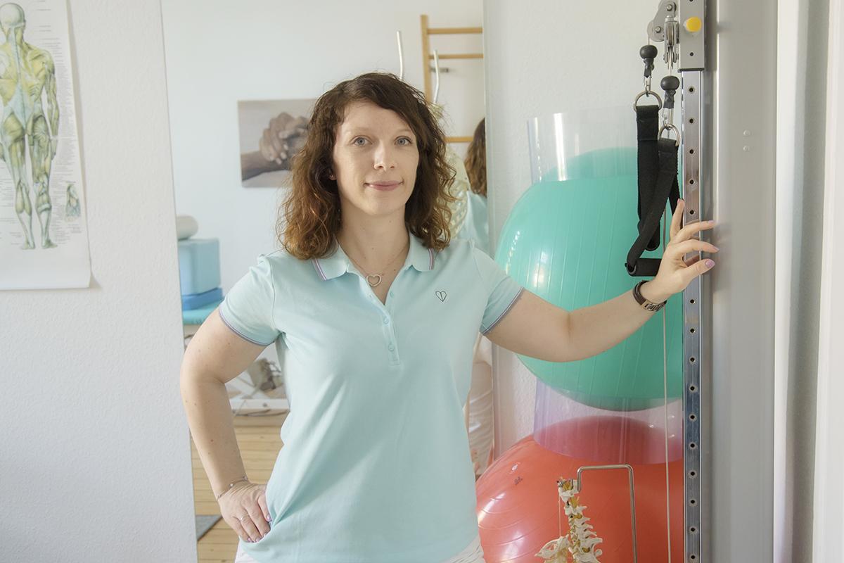 Physiotherapeutin Melanie Müller