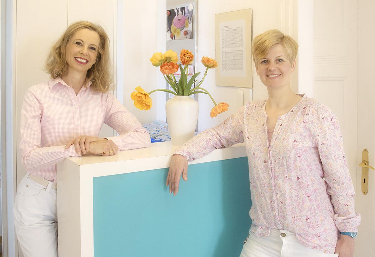 Veronika Scheer Gerken und Sandra Schliemann