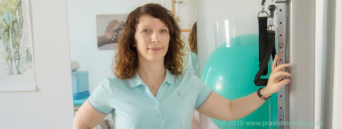 Physiotherapeutin Melanie Müller (Spiraldynamik)